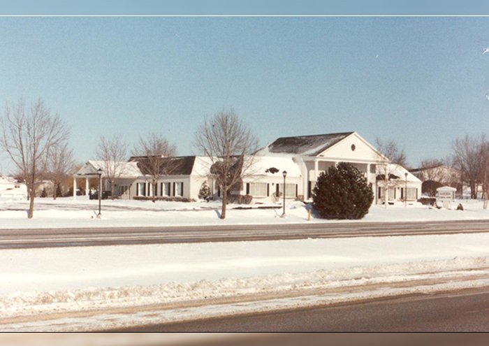 Harder Funeral Home, Brookfield Chapel - Winter of 1974